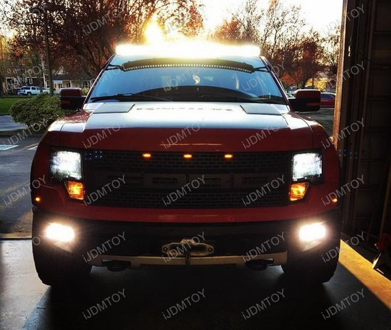 Ford Raptor LED Light Bar Bracket