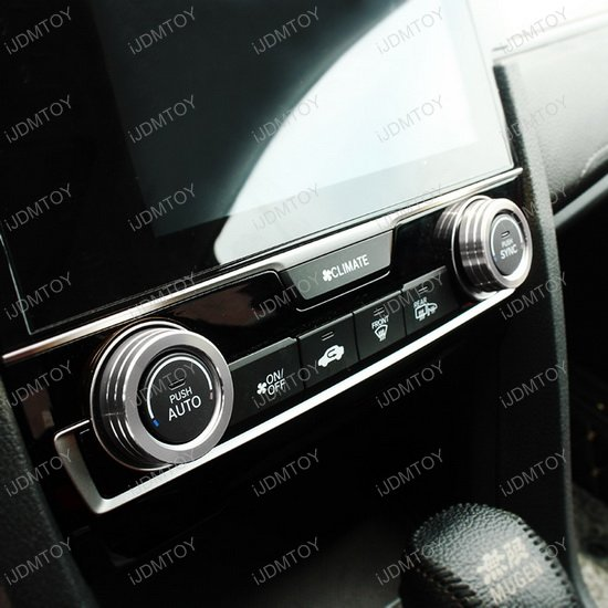 Honda Civic AC Knob Cover