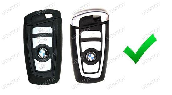 Metal Key Shell For BMW