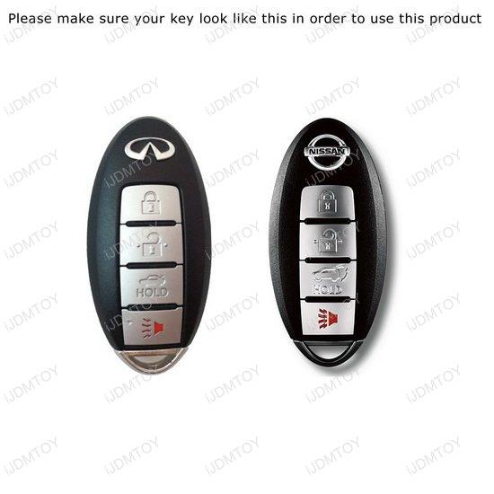 Metal Nissan Car Key Holder