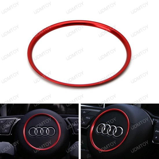 Audi Round Shape Steering Wheel Ring