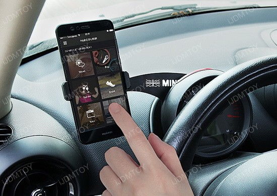 MINI Cooper On Dash Phone Holder