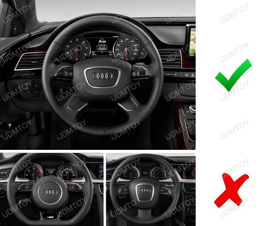 Audi Steering Wheel Cover Trim