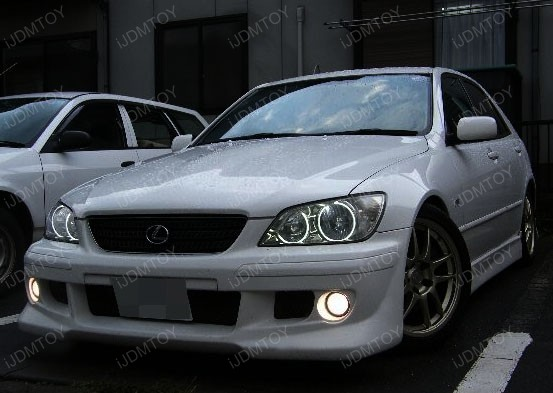 Lexus IS300 CCFL Angel Eyes Rings