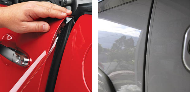 how to remove scratches from clear molded plastic