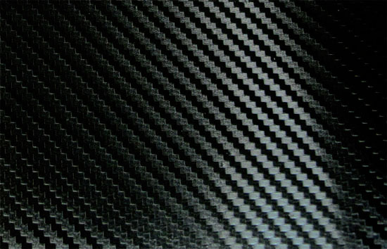 "JDM High Quality 24"" x 60"" Dry Black Self Adhesive 3D Twill-Weave Carbon Fiber Sty"