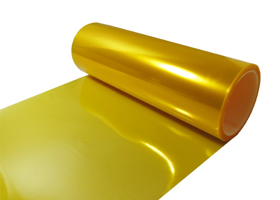 JDM golden yellow vinyl film sheet