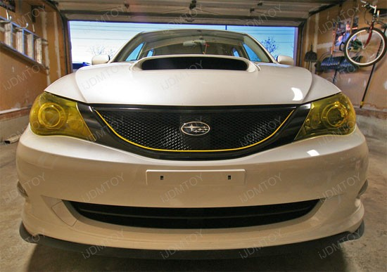 JDM Yellow Headlights Fog Lights Vinyl