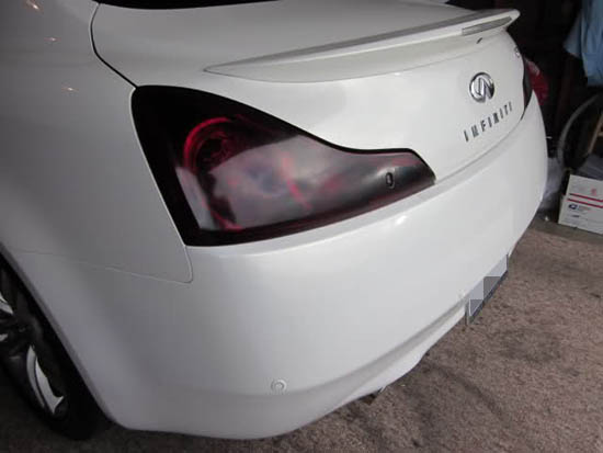 12x48 Quot Black Out Dark Smoked Tint Taillight Headlight