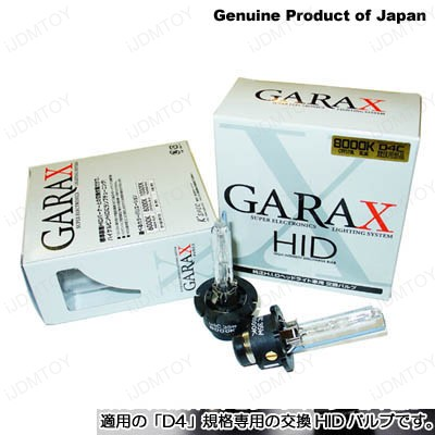 JDM 6000K 8000K 10000K 12000K Garax D4S or D4R HID Xenon Upgrade Bulbs