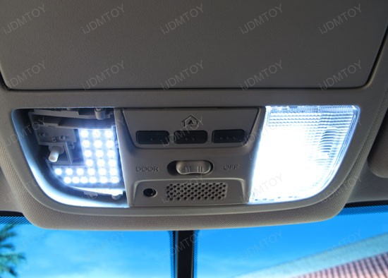 Honda Accord Sedan or Coupe Direct Fit LED Interior Panel Lights Package
