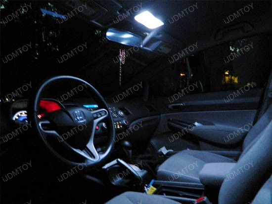 Honda Insight Hybrid Direct Fit LED Interior Panel Lights Package