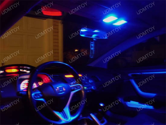 2007 Honda Accord Custom >> Honda Accord 118-Lights Direct Fit LED Interior Lights Package