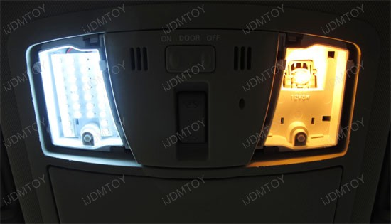Awesome Nissan Altima Sedan Direct Fit LED Interior Panel Lights