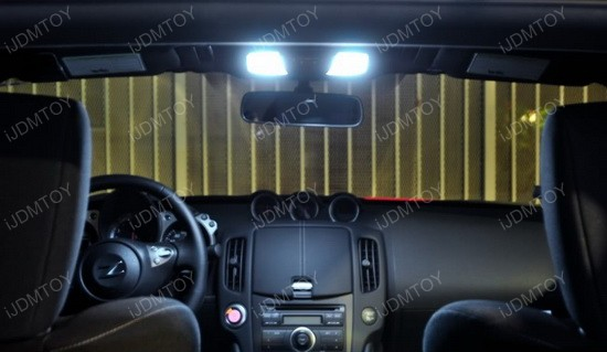 Nissan Z34 370Z Direct-Fit LED Interor Panel Lights Package