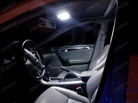 Acura TL Vehicle Specific LED Interior Light Package - Acura tl 2004 dashboard