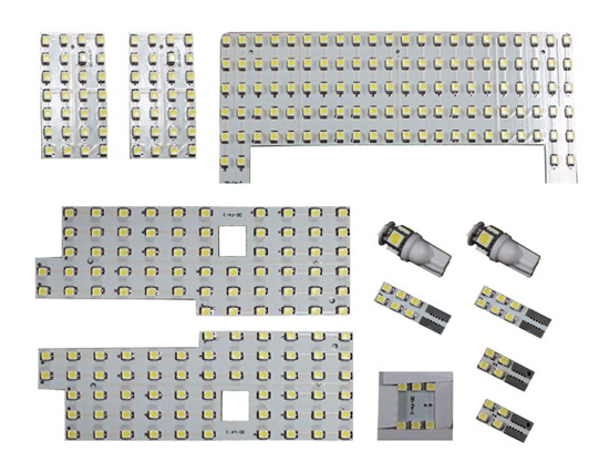 Direct Exact Fit 326-SMD Complete LED Interior Package