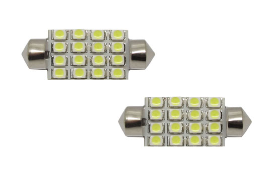 16-SMD 1210 6411 6418 LED Bulbs