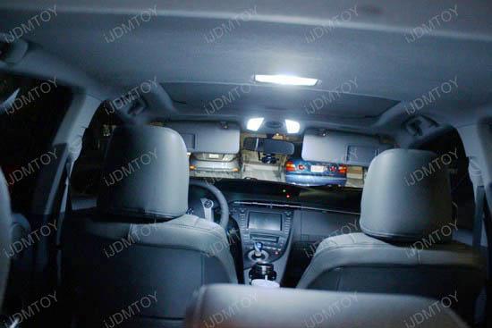 iJDMTOY Xenon White LED Interior Lights