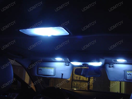 High Power 40-SMD LED Interior Light Panel Dome Map Lights