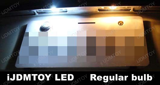 2-SMD T10 168 2825 LED Wedge LED Bulbs