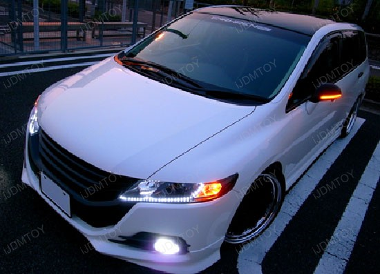 Audi style led strip lights euro style led strips led drl lights audi style led strips for fog lights aloadofball Images