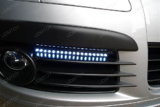 Audi style led strip lights euro style led strips led drl lights audi style led strips for fog lights aloadofball Image collections