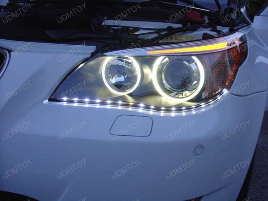 Audi a5 r8 style led strip lights led headlights led driving lights audi style side shine smd led strip lights headlights aloadofball Gallery