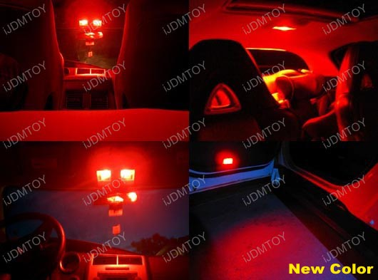 5 Smd 168 194 Led Bulbs For Car Interior Lights License