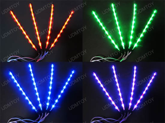 7-Color RGB LED Interior Lighting Kit
