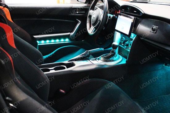 7-Color RGB LED Interior Lighting Kit