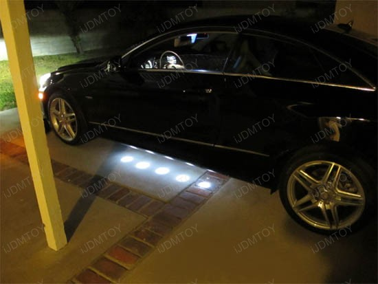 Mercedes Brabus Vip Underbody Led Puddle Light Kit Spot