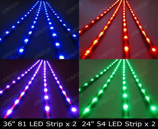 LED Strip Lights Underbody Undercar Kit
