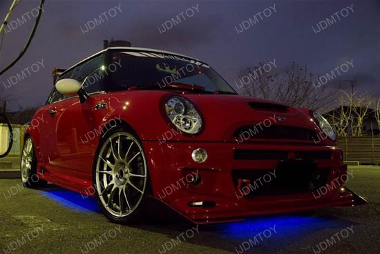 LED Strip Light Underbody Undercar Kit Mini Cooper