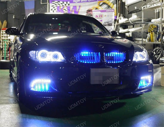 7 Color Led Scanner Light Rgb Led Knight Rider Accent