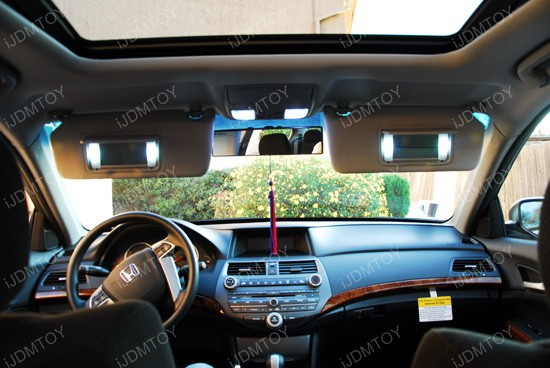 Vanity Mirror Lights In Car : F30-WHP Fuse Type 6414F LED Vanity Light Bulbs