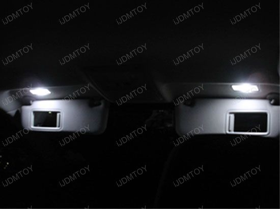 D29mm F30-WHP 6614F Vanity Mirror 3-SMD LED Bulbs