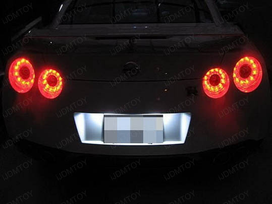 W5W 2825 T10 LED Bulbs Nissan