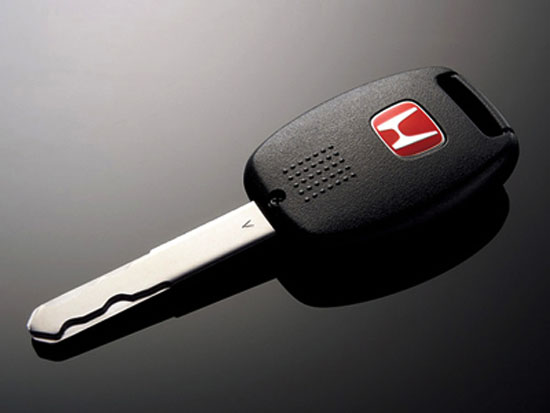Honda Type-R Red H Key Cover