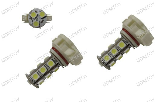 5202 H16 18-SMD LED Fog Lights DRL