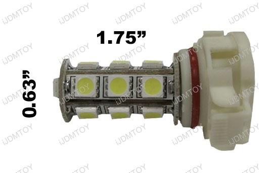5202 H16 18-SMD LED Fog Lights DRL