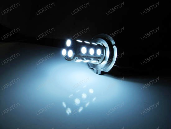 H7 18-SMD LED Fog Lights DRL