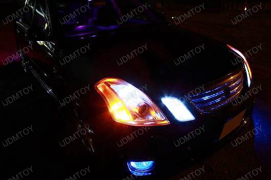 H3 SMD LED Bulbs Fog Lights DRL