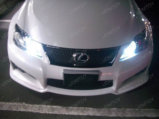 H4 HB2 18-SMD LED Fog Lights DRL