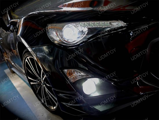 5202 H16 LED Bulbs For Scion FR-S and Subaru BRZ