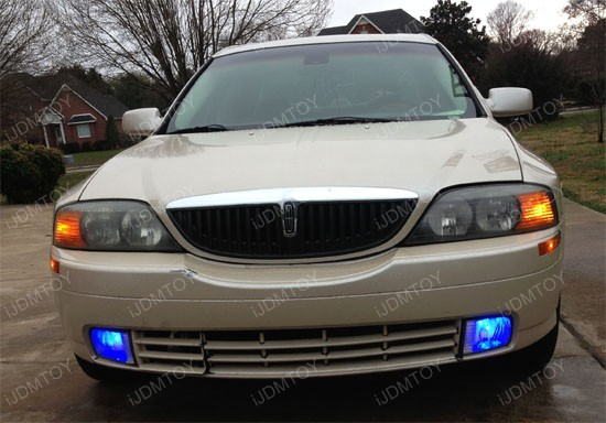 iJDMTOY Ultra Blue LED fog light bulbs