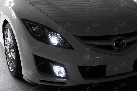 H11 Hyper-Flux SMD LED Fog Lights DRL
