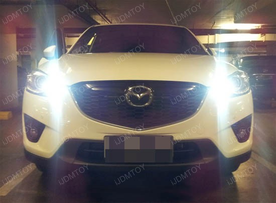 Mazda CX-5 P13W SMD LED Fog Lights DRL