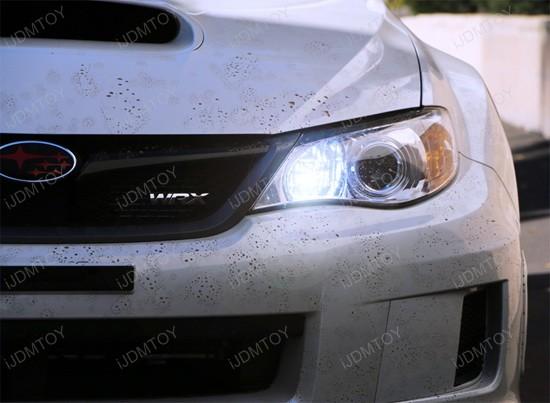 Subaru Impreza WRX STi 9005 HB3 LED Daytime Running Lights DRL