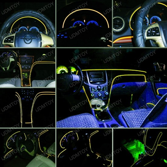 EL Neon Strip For Car Interior